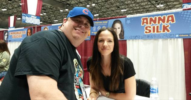 Keith the critic and star Anna Silk